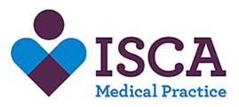 ISCA Medical Practice logo and homepage link